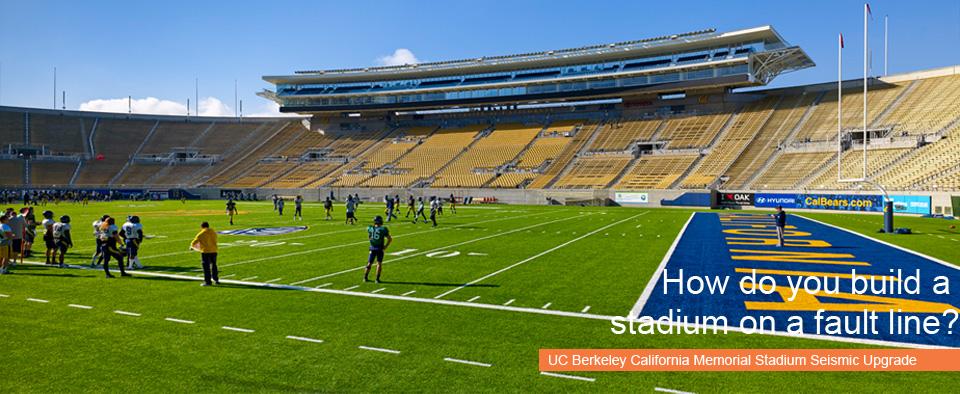 UC Berkeley California Memorial Stadium Seismic Upgrade