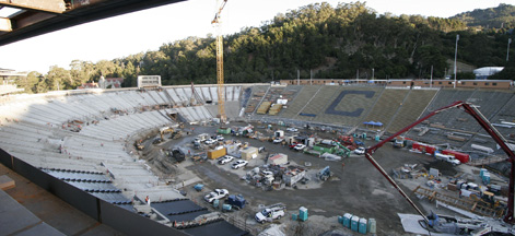 UC Berkeley California Memorial Stadium Seismic Upgrade