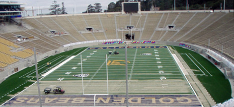 California Memorial Stadium 2 Weeks Later