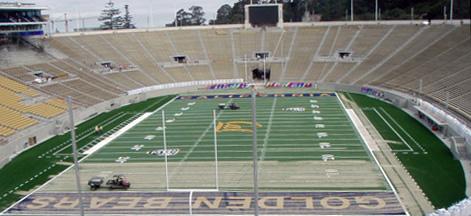 California Memorial Stadium 2 Weeks Later
