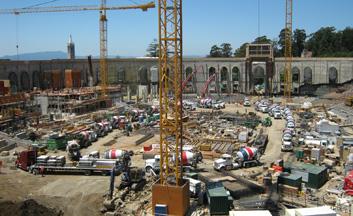 UC Berkeley California Memorial Stadium Construction