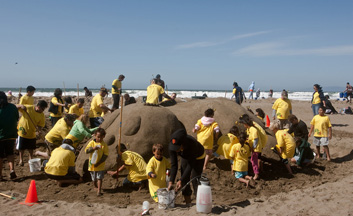 LEAP Sandcastle